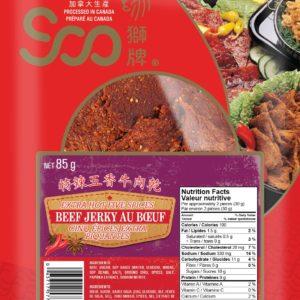 Soo Exta Hot 5 Spice Beef Jerky