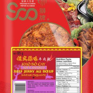 Soo Vietnamese Style Hot Flavor Beef Jerky