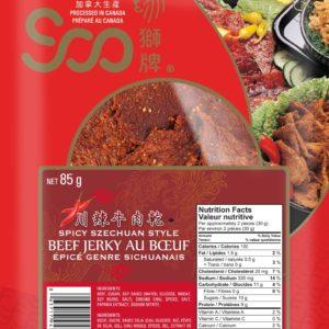 Soo Spicy Szechuan Beef Jerky